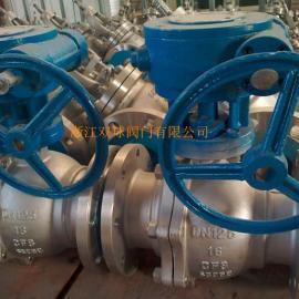 不锈钢阀门-Q341F不锈钢蜗轮传动法兰球阀