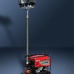 移动升降照明车|SFW6110价格 海洋王全方位自动泛光工作灯