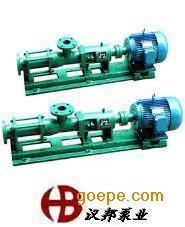 G型单螺杆泵、给料泵、煤渣泵