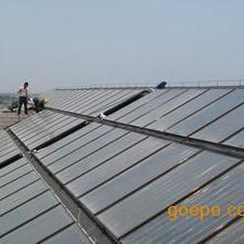上海平板太阳能热水工程