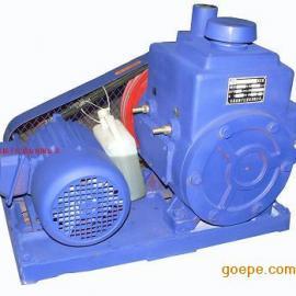 旋片真空泵:2X型双级旋片式系列真空泵
