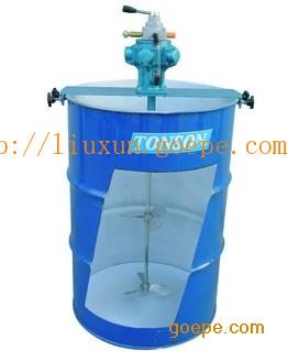 伸展式|夹式|横版式气动搅拌机TS50
