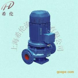 ISG单级单吸管道�x心泵