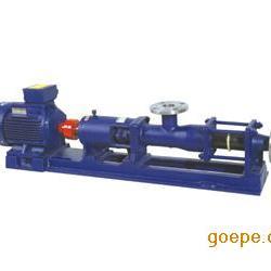 不锈钢G型单螺杆泵、苏州螺杆泵销售