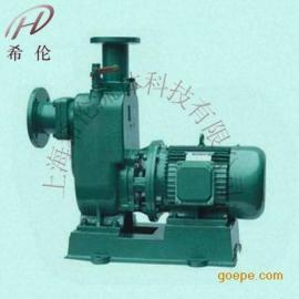 直�式自吸排污泵