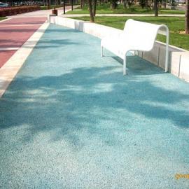 透水地坪应用―主题公园