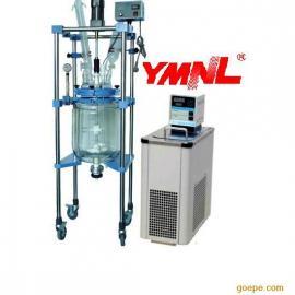 杭州玻璃反应釜YMNL1-50L