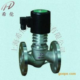 高温电磁阀ZCGL不锈钢蒸汽电磁阀DN50碳钢350度导热油电磁阀