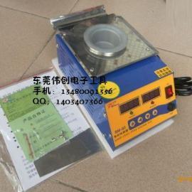 无铅锡炉SM-50圆纯钛熔锡炉