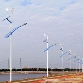 风能太阳能风光互补LED高杆路灯