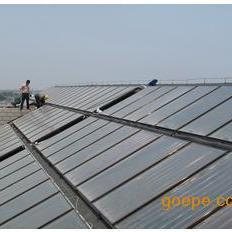 上海平板太阳能热水工程安装