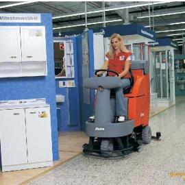 哈高B750R驾驶式全自动洗地吸干机