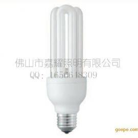 供应飞利浦 ES 18W WW/CDL暖白光标准型节能灯管 3U E27