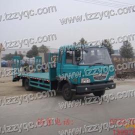东风EQ5081挖掘机运输车挖掘机拖车