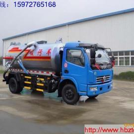 供应吉林厂家直销5吨东风真空吸污车