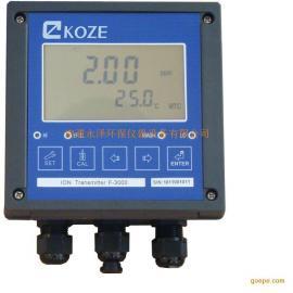 氟离子浓度测定仪F-3000