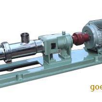 FG不锈钢单螺杆泵