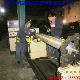 重庆校电动机转子轴动平衡