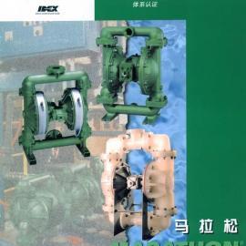 美国马拉松气动隔膜泵M20B3P1PPAS000