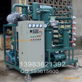 ZJAA-100高压绝缘油变压器油双级高效真空滤油机