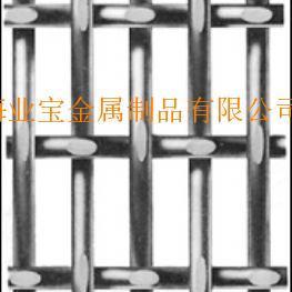 热镀锌大丝长方孔轧花网