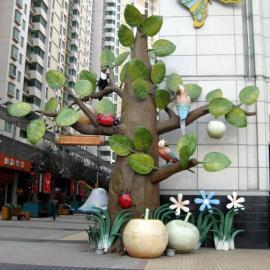 景观雕塑许愿树