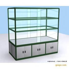 结构坚固铝合金展示柜