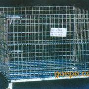 上海折叠式物流台车 储物笼 仓储笼