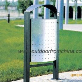 公园垃圾桶,街道垃圾桶,金属垃圾桶