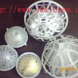 塑料网笼球填料