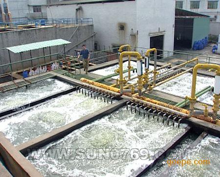 惠州皮革废水治理工程更换滤料