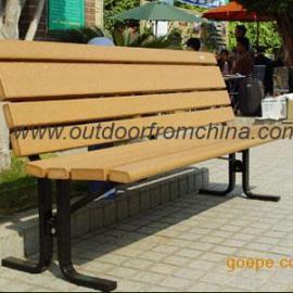 公园椅,实木椅,户外休闲椅