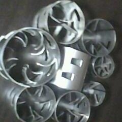 化工净化塔散堆不锈钢鲍尔环填料