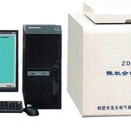 供应ZDHW-6微机量热仪智能量热仪氧弹热量计水分测定仪
