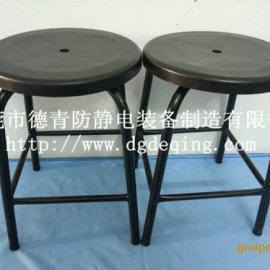 珠海防静电四脚加固圆凳,流水线专用防静电工作椅子