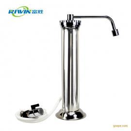 台式不锈钢净水器家用道尔顿中央水龙头净水器厨房超滤纯水直饮机