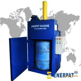 油桶压扁机,油漆桶压扁机,油桶压缩机,铁桶压扁机,液压油桶机