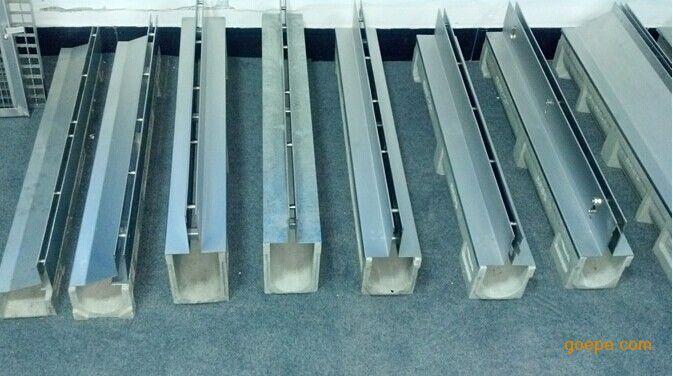 線性排水溝材質為樹脂混凝土