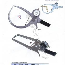 特殊大规格带表外卡规0-100X400mm测量范围现货销售