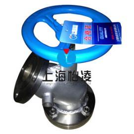 供应保温夹套钛放料阀|上海怡凌BFLJ-16Ti钛放料阀