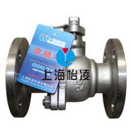 生产供应C4钢阀门 上海怡凌Q41F-16C4 C4钢球阀