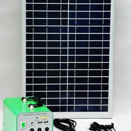 20W太阳能发电宝/野营家用照明/小型便携式太阳能发电系统