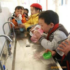 学校专用全温6龙头不锈钢直饮水机