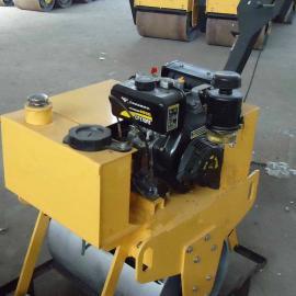 济宁小压路机厂家为鲁甸祈福 手扶式单轮压路机 小型震动碾