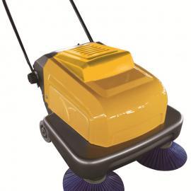 明诺双刷手推式扫地机 工厂仓库用小型扫地机P100
