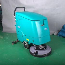 瓷砖地面用洗地机 手推式电瓶洗地机