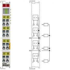 倍福KL2404 4通道数字量输出端子模块