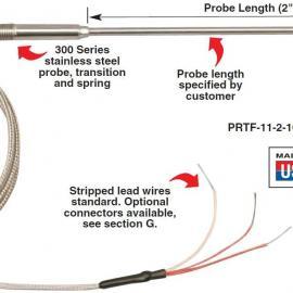 PRTF-11-2-1000-1/4-6-E-SB热电阻 美国omega热电阻