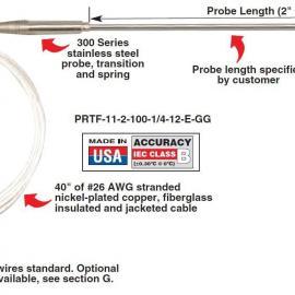 PRTF-11-2-100-3/16-12-E-GG热电阻 美国omega热电阻