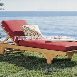 深圳沙滩椅,广州沙滩椅,户外木制沙滩椅